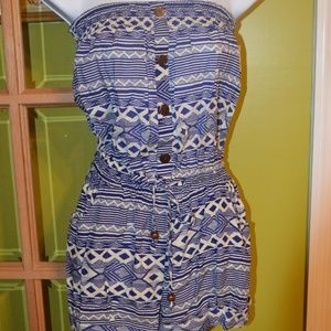 shorts romper, NWT, medium